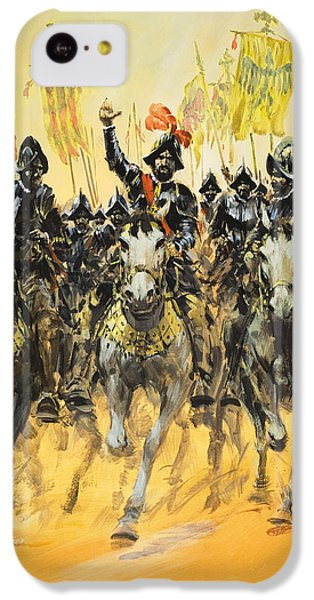Spanish Conquistadors IPhone 5c Case