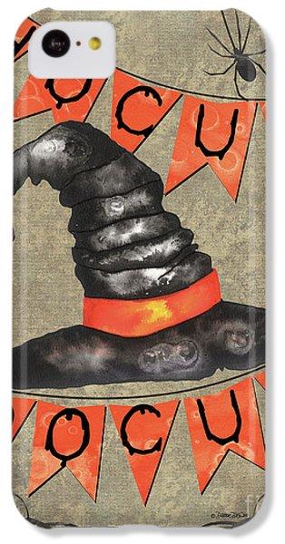 Bat iPhone 5c Case - Spooky Pumpkin 1 by Debbie DeWitt