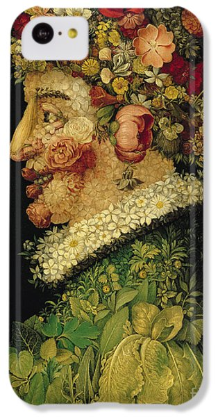 Spring IPhone 5c Case by Giuseppe Arcimboldo