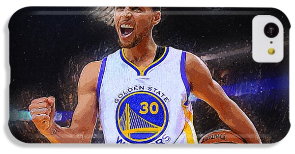 Stephen Curry IPhone 5c Case by Semih Yurdabak