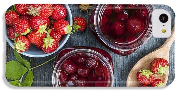Strawberry Preserve IPhone 5c Case by Elena Elisseeva