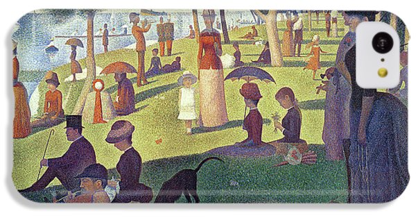 Sunday Afternoon On The Island Of La Grande Jatte IPhone 5c Case by Georges Pierre Seurat