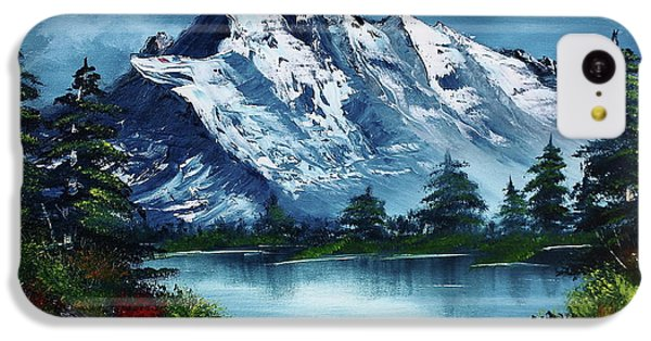 Mountain iPhone 5c Case - Take A Breath by Barbara Teller