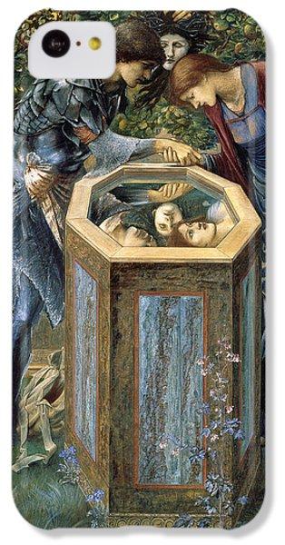 The Baleful Head IPhone 5c Case by Edward Burne-Jones