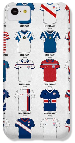 The Evolution Of The Us World Cup Soccer Jersey IPhone 5c Case