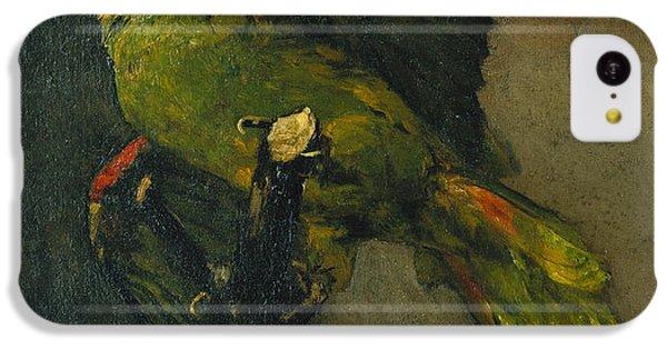 Parakeet iPhone 5c Case - The Green Parrot by Vincent Van Gogh
