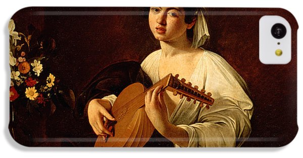 Music iPhone 5c Case - The Lute-player by Caravaggio