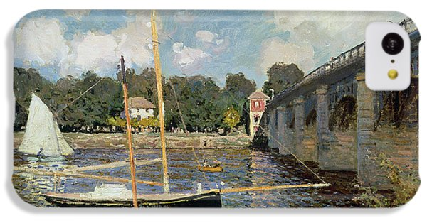 Boat iPhone 5c Case - The Seine At Argenteuil by Claude Monet