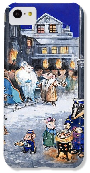 The Town Mouse And The Country Mouse IPhone 5c Case by Philip Mendoza