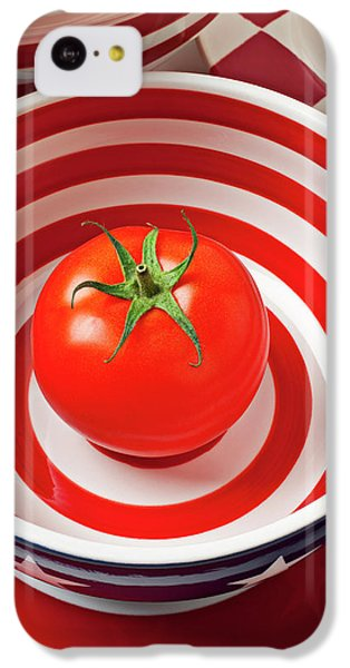 Tomato In Red And White Bowl IPhone 5c Case