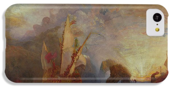 Cyclops iPhone 5c Case - Ulysses Deriding Polyphemus - Homer's Odyssey by Joseph Mallord William Turner