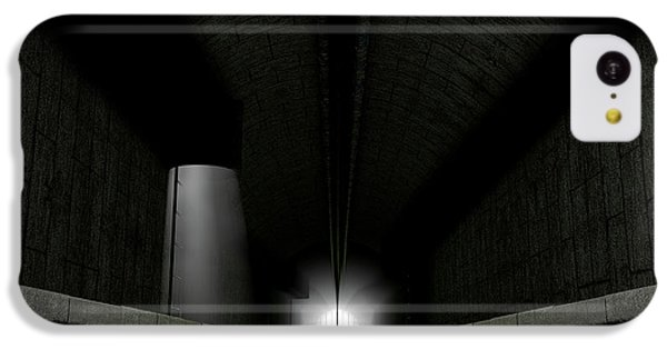 London Tube iPhone 5c Case - Underground Sewer by Allan Swart