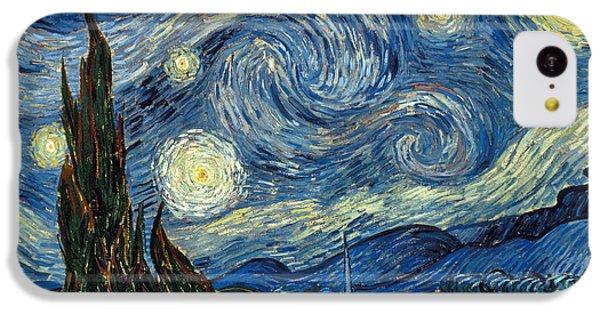 Impressionism iPhone 5c Case - Van Gogh Starry Night by Granger