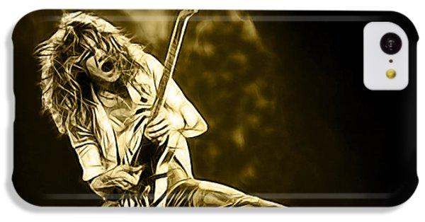 Van Halen Eddie Van Halen Collection IPhone 5c Case by Marvin Blaine