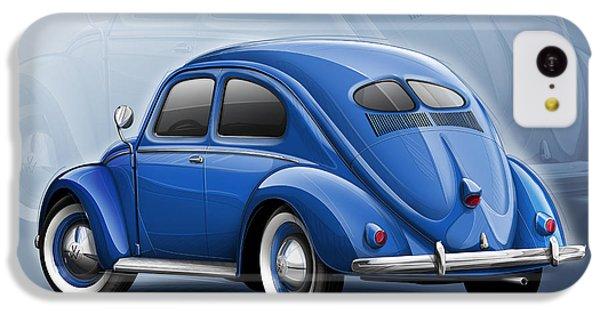Volkswagen Beetle Vw 1948 Blue IPhone 5c Case
