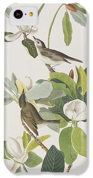 Warbling Flycatcher IPhone 5c Case by John James Audubon
