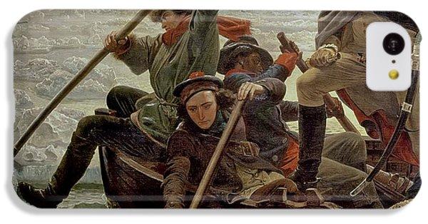 Boat iPhone 5c Case - Washington Crossing The Delaware River by Emanuel Gottlieb Leutze