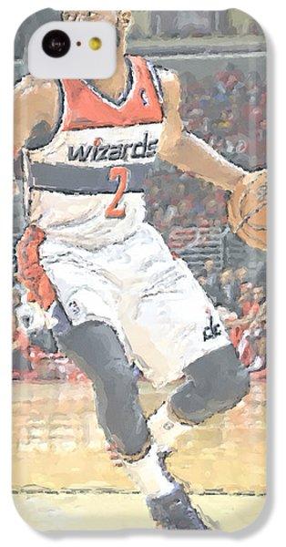 Washington Wizards John Wall IPhone 5c Case by Joe Hamilton