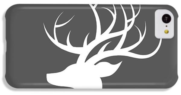 White Deer Silhouette IPhone 5c Case