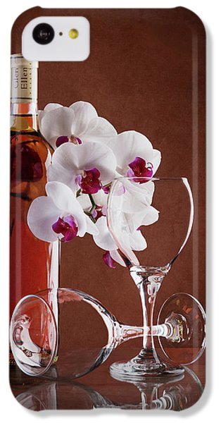 Wine And Orchids Still Life IPhone 5c Case