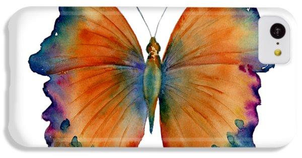 Orange iPhone 5c Case - 1 Wizard Butterfly by Amy Kirkpatrick