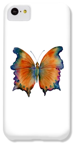 Wizard iPhone 5c Case - 1 Wizard Butterfly by Amy Kirkpatrick
