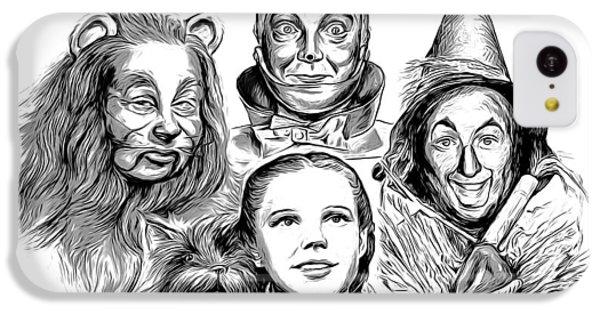 Wizard iPhone 5c Case - Wizard Of Oz by Greg Joens
