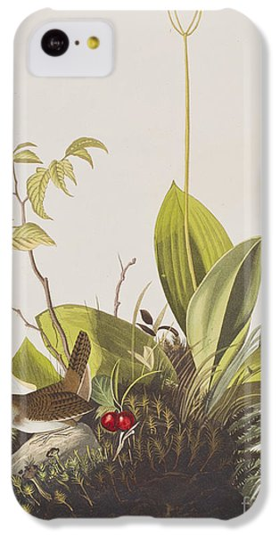 Wood Wren IPhone 5c Case by John James Audubon