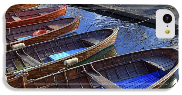Boat iPhone 5c Case - Wooden Boats by Joana Kruse