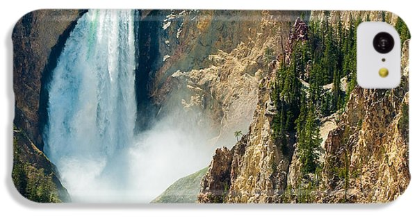 Yellowstone Waterfalls IPhone 5c Case by Sebastian Musial
