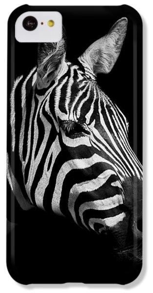 Zebra IPhone 5c Case by Paul Neville