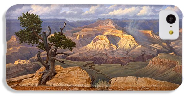 Zoroaster Temple From Yaki Point IPhone 5c Case by Paul Krapf