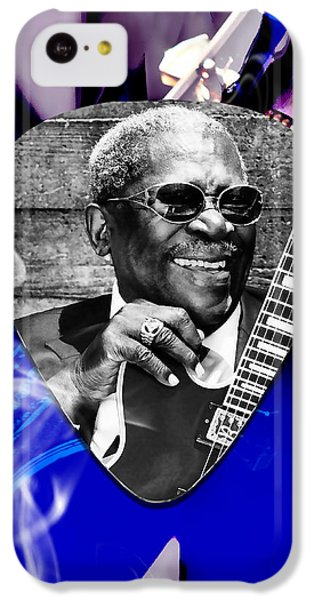 Bb King Art IPhone 5c Case by Marvin Blaine