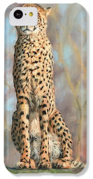 Cheetah IPhone 5c Case by David Stribbling