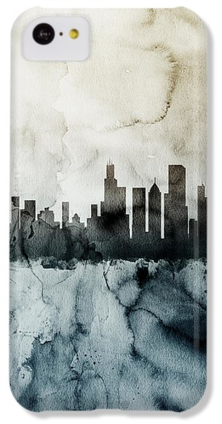Chicago Illinois Skyline IPhone 5c Case by Michael Tompsett