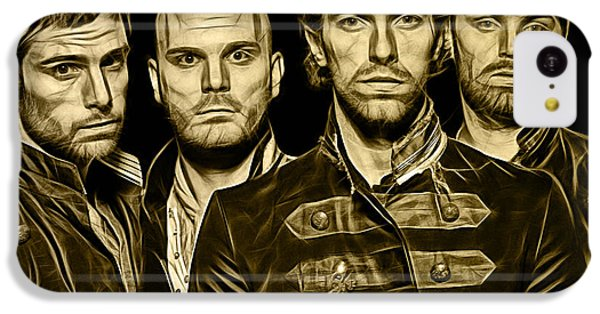 Coldplay Collection IPhone 5c Case by Marvin Blaine