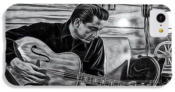 Johnny Cash Collection IPhone 5c Case by Marvin Blaine