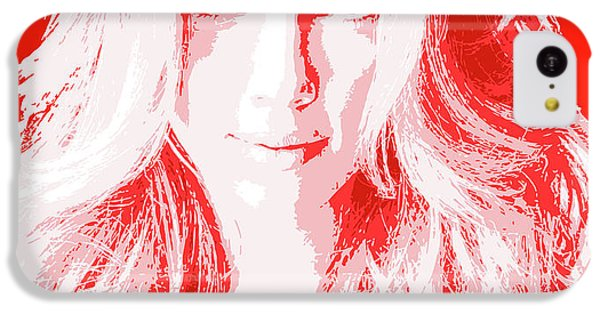 Scarlett Johansson iPhone 5c Case - New Pop Celebrities by Giorgio D'Albano