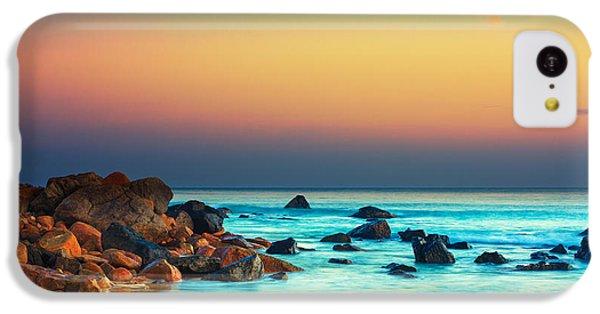 Beautiful Sunrise iPhone 5c Case - Sunset by MotHaiBaPhoto Prints