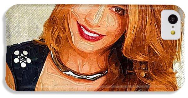 Shakira iPhone 5c Case - Actress Sofia Vergara  by Elizabeth Simon