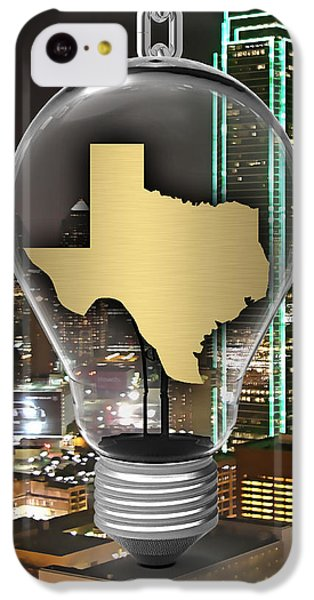 Texas State Map Collection IPhone 5c Case by Marvin Blaine