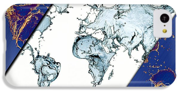 World Map Collection IPhone 5c Case by Marvin Blaine