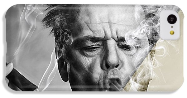 Jack Nicholson Collection IPhone 5c Case by Marvin Blaine
