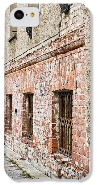 Dungeon iPhone 5c Case - Derelict Building by Tom Gowanlock