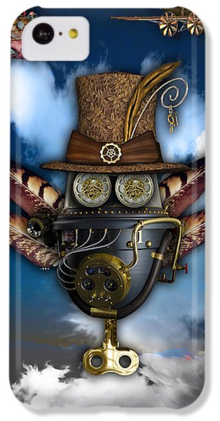 Steampunk Art IPhone 5c Case by Marvin Blaine