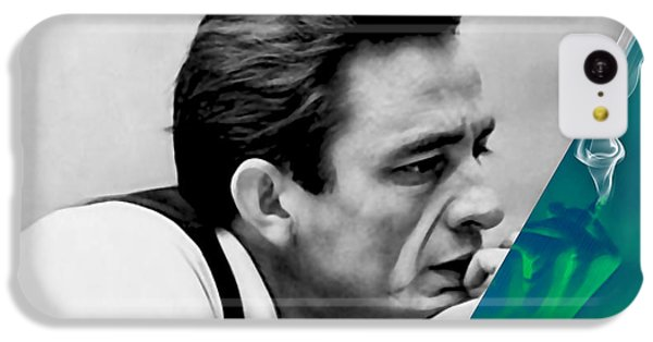 Johnny Cash Collection IPhone 5c Case