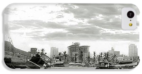 1926 Miami Hurricane  IPhone 5c Case by Jon Neidert