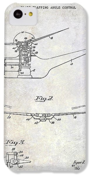 1947 Helicopter Patent IPhone 5c Case by Jon Neidert