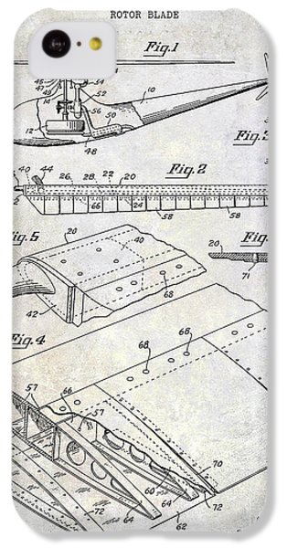 1949 Helicopter Patent IPhone 5c Case by Jon Neidert