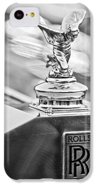 1952 Rolls-royce Silver Wraith Hood Ornament 2 IPhone 5c Case